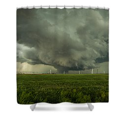 Kansas Wall Shower Curtain