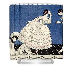 Karsavina Shower Curtain by Georges Barbier