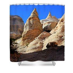 Kasha-katuwe Tent Rocks Shower Curtain by Bob Christopher
