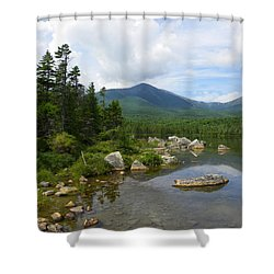 Katahdin And Sandy Stream Pond Shower Curtain