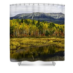 Katahdin Baxter State Park Maine Shower Curtain