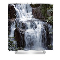 Katahdin Stream Falls Baxter State Park Maine Shower Curtain