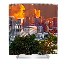 Katrina Storm Hits Cincinnati Shower Curtain