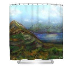 Kauai Shower Curtain by Christine Fournier