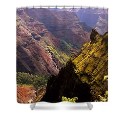 Kauai Colors Shower Curtain