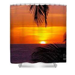 Kauai Sunset Shower Curtain