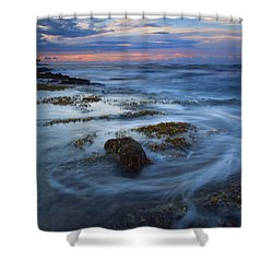 Kauai Tides Shower Curtain by Mike  Dawson
