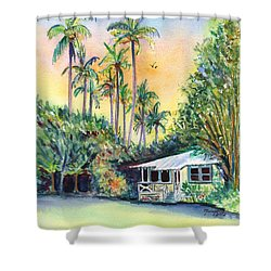 Kauai West Side Cottage Shower Curtain