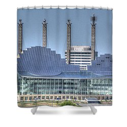 Kauffman Performing Arts Center Shower Curtain