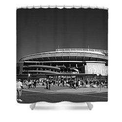 Kauffman Stadium - Kansas City Royals 2 Shower Curtain by Frank Romeo