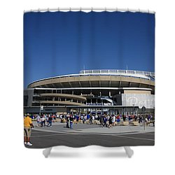 Kauffman Stadium - Kansas City Royals Shower Curtain by Frank Romeo