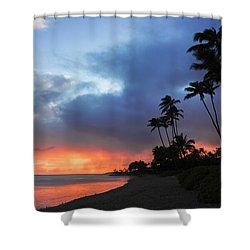 Kawaikui Sunset 2 Shower Curtain