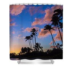 Kawakui Sunset 3 Shower Curtain