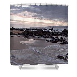 Keawakapu Kahaulani Aloha Wailea Maui Hawaii Shower Curtain by Sharon Mau