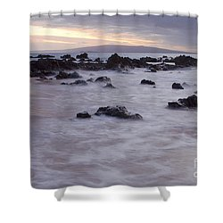 Keawakapu Tropical Nights Shower Curtain by Sharon Mau