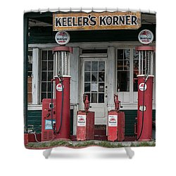 Keeler's Korner IIi Shower Curtain