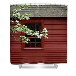 Shower Curtain featuring the photograph Keeney School House by Christiane Hellner-OBrien