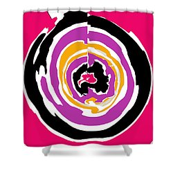 Keep The Money Circulating Shower Curtain by RjFxx at beautifullart com