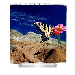 Keep The Faith Shower Curtain