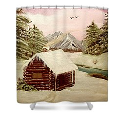 Kelly's Retreat Shower Curtain by Sheri Keith
