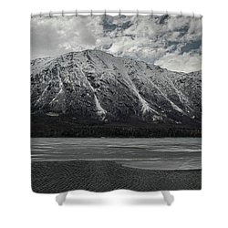 Kenai Lake Shower Curtain