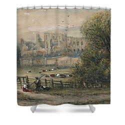 Kenilworth Shower Curtain by James Orrock