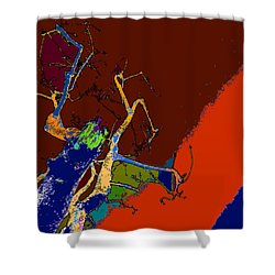 Kenneth's Nature - Dying To Live - Series - 09 Shower Curtain