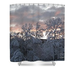 Kent Ct Oct 2011 Shower Curtain by HEVi FineArt