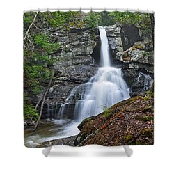 Kent Falls State Park Ct Waterfall Shower Curtain
