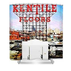 Kentile Floors Shower Curtain