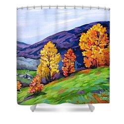 Kentucky Hillside Shower Curtain