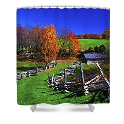 Kentucky Settlement Shower Curtain by Paul W Faust -  Impressions of Light