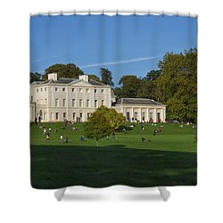 Kenwood House Hamstead Heathouse Shower Curtain by Carol Ailles