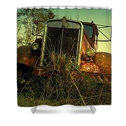 Kenworth 2 Shower Curtain by Salman Ravish
