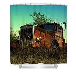 Kenworth 3 Shower Curtain