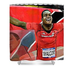 Keshorn Walcott Shower Curtain