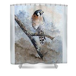 Kestrel Perch Shower Curtain