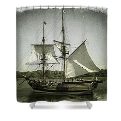 Ketch Underway Shower Curtain