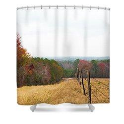Key Hill 2 Shower Curtain
