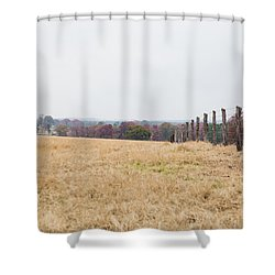 Key Hill 3 Shower Curtain