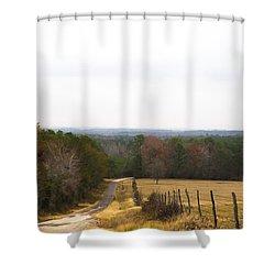 Key Hill Shower Curtain