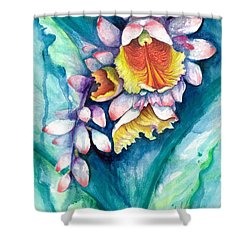 Key West Ginger Shower Curtain