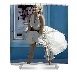 Key West Marilyn Shower Curtain