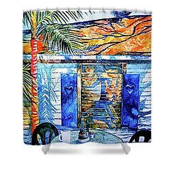 Key West Still Life Shower Curtain