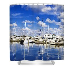Key West Shower Curtain by Swank Photography