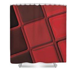 Keyboard Exposure Shower Curtain by Pharris Art