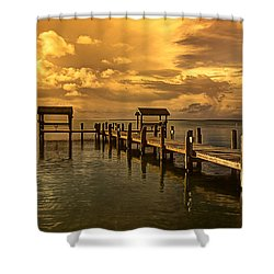 Keys II Shower Curtain by Bruce Bain