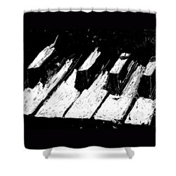 Keys Of Life Shower Curtain