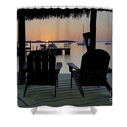 Keys Sunset Iv Shower Curtain by Bruce Bain