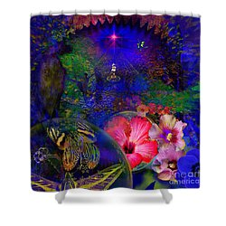 Solar Paradise Shower Curtain